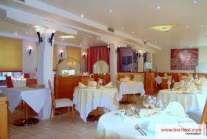 restaurant plafond acoustique barrisol